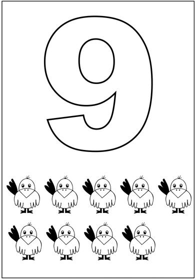 9 Sayısı 1 Preschool Activity