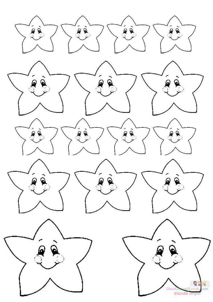 Yıldızlar Sınıfı 6 Preschool Activity