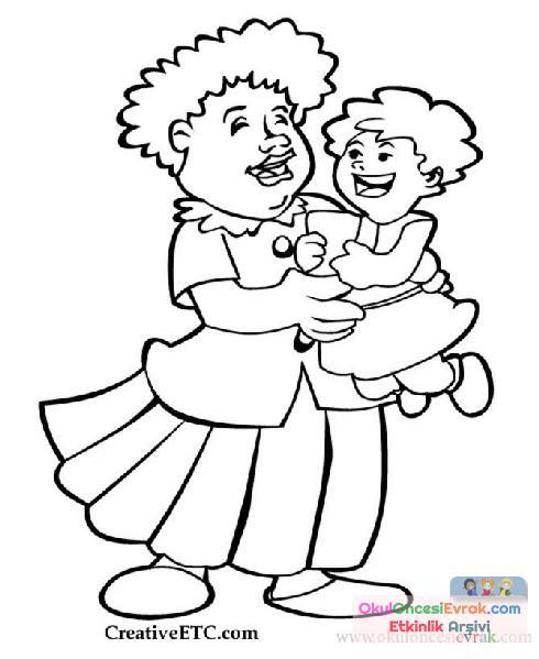 Anne Baba Anneler Günü 57 Preschool Activity