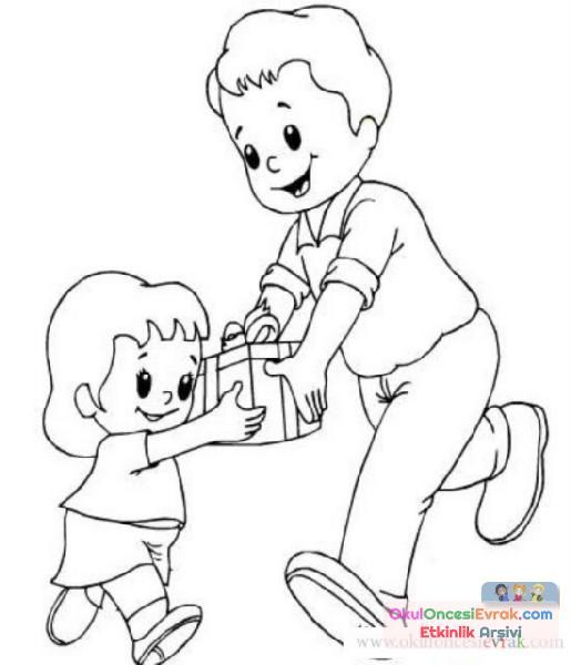 Anne Baba Anneler Günü 62 Preschool Activity