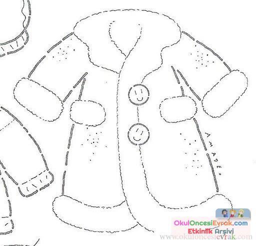 Ceket Boyama 1 Preschool Activity