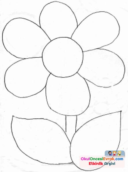 Boyama Sayfası çiçek