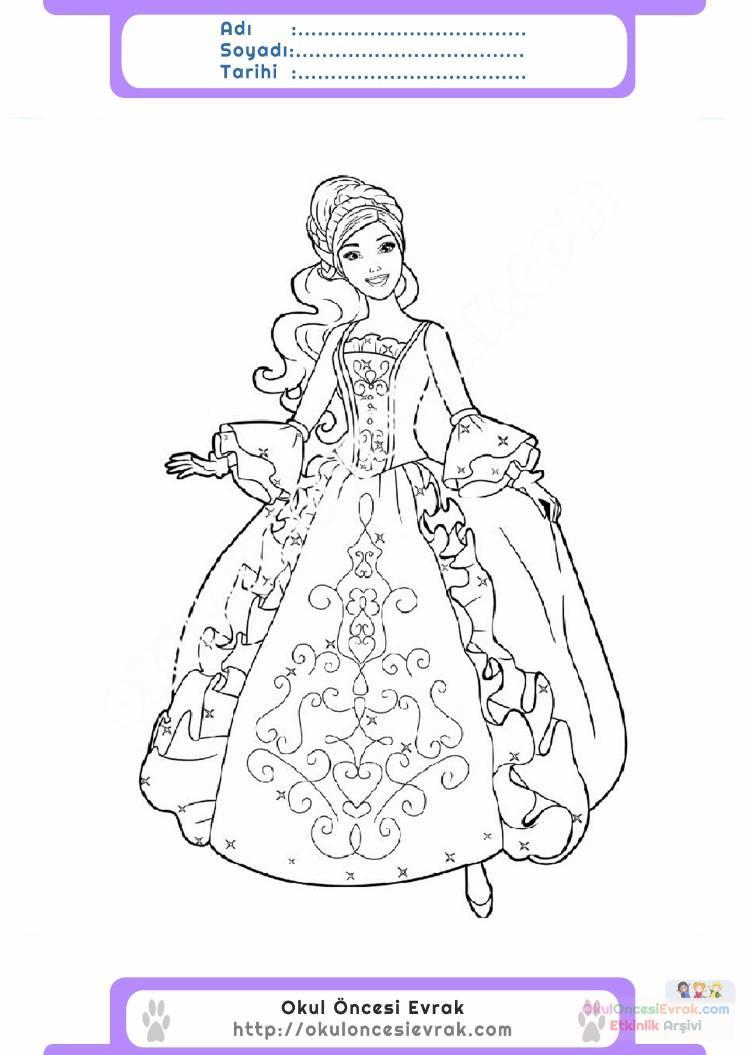 çocuklar Için Elbise Kıyafet Giysi Boyama Sayfası 12 Preschool