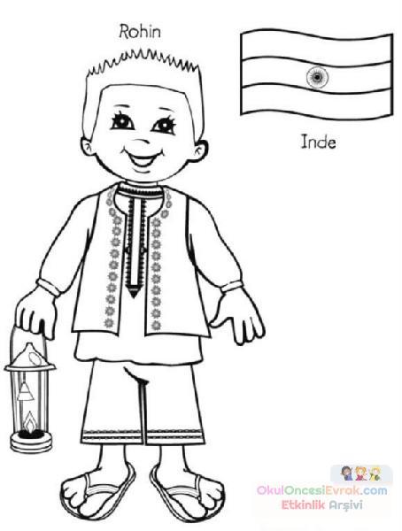 Dünya çocukları 20 Preschool Activity