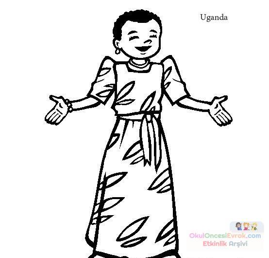 Dünya çocukları 27 Preschool Activity