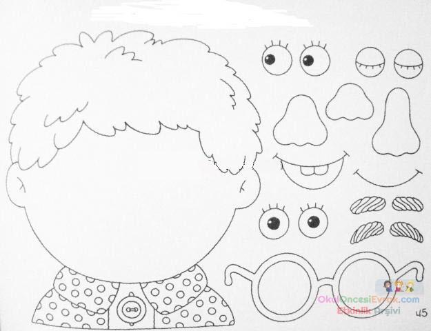 Duyu Organları 16 Preschool Activity