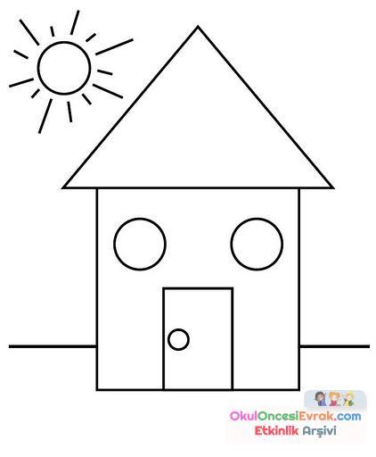 Geometrik şekiller Kavram 5jpg Preschool Activity