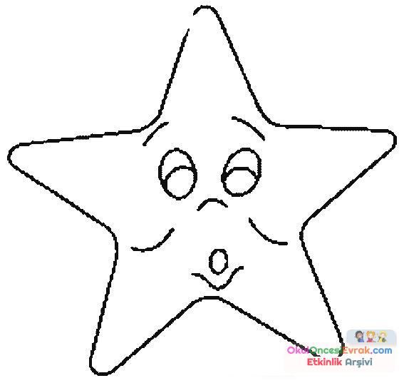 Gökyüzünde Neler Var Yıldız 131 Preschool Activity