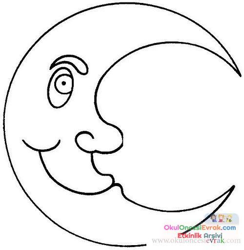 Güneş Ay Yıldız Dünya 13 Preschool Activity