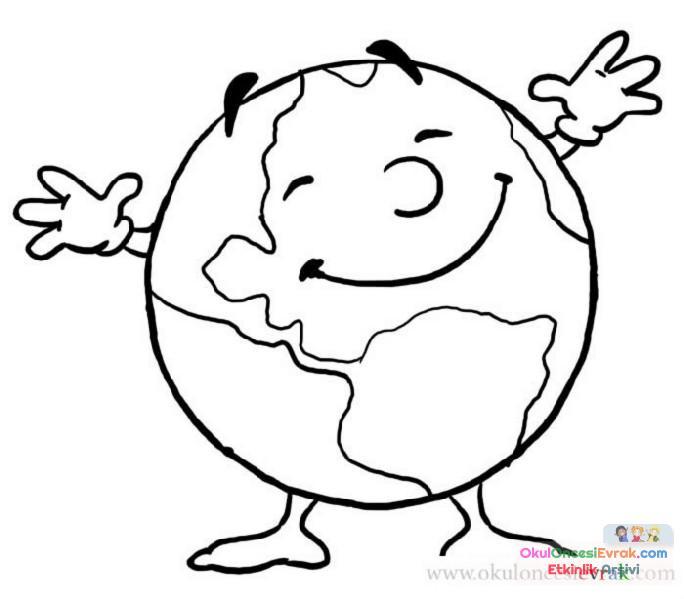 Güneş Ay Yıldız Dünya 21 Preschool Activity
