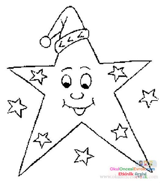 Güneş Ay Yıldız Dünya 4 Preschool Activity
