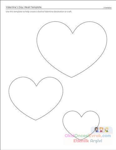 Kalp Boyama Sayfası Gazetesujin