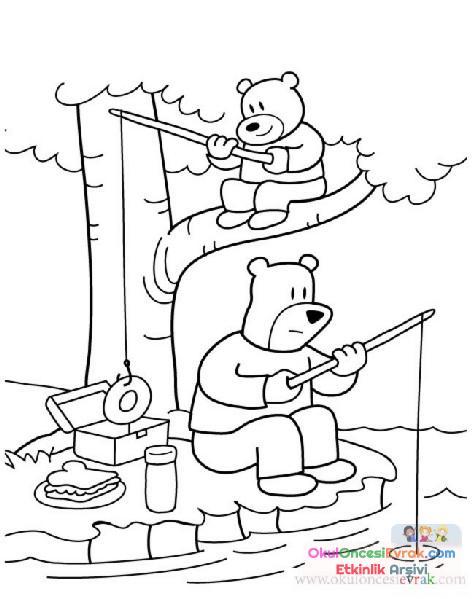 Karışık Boyama 35 Preschool Activity