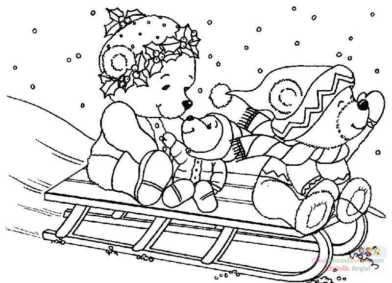 Karışık çizgi Film Boyama 135 Preschool Activity