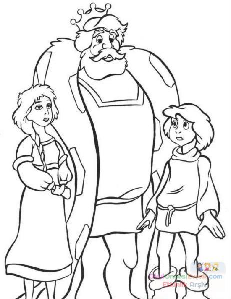 Karışık çizgi Film Boyama 79 Preschool Activity