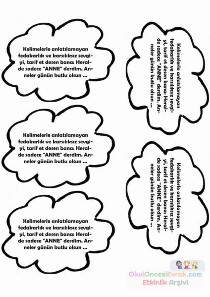 Karma Boyama Sayfası 62 Preschool Activity