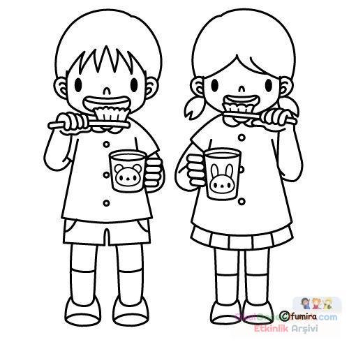 Karma Boyama Sayfası 75 Preschool Activity