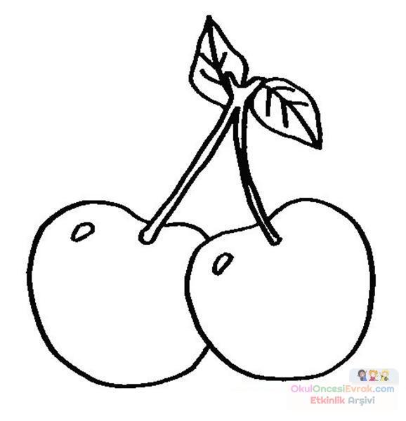 Buradan Indirin Meyve Sebze Boyama Sayfas En Iyi Boyama Cocuk