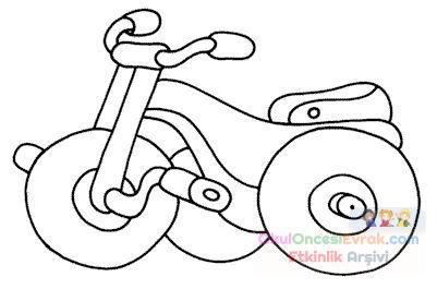 【orijinal】 Motorsiklet Resmi Boyama