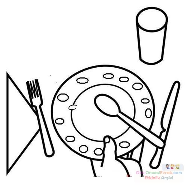 Mutfak Eşyaları 78 Preschool Activity