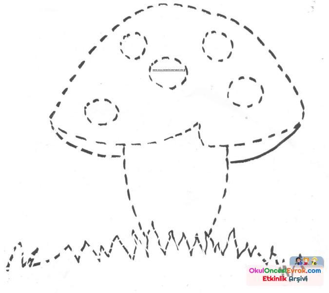 Nokta Birleştirme 2 Preschool Activity