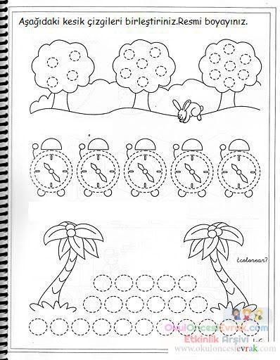 Nokta Birleştirme 96 Preschool Activity