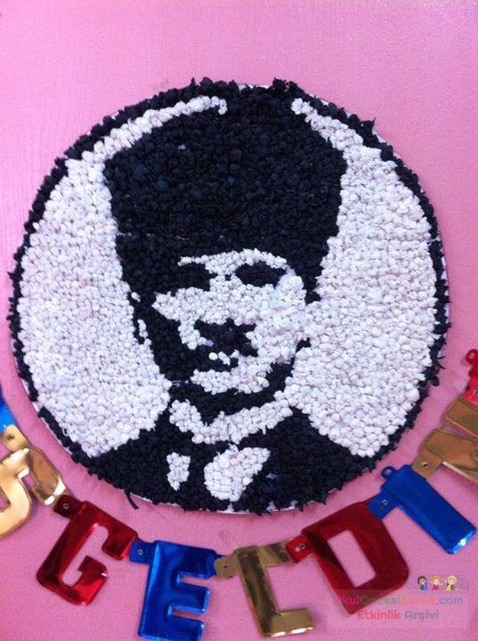 Okul öncesi Atatürk Köşesi 4 Preschool Activity