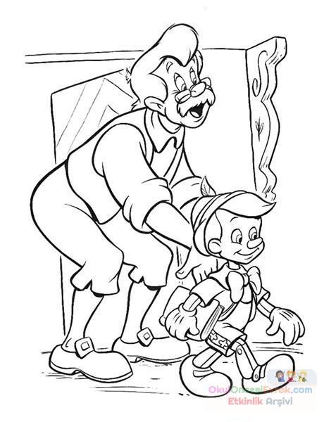 Pinokyo Boyama 13 Preschool Activity