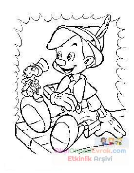 Pinokyo Boyama 2 Preschool Activity