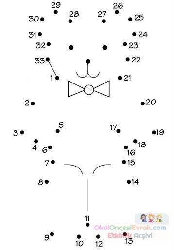 Sayı Birleştirme Kavram 59 Preschool Activity