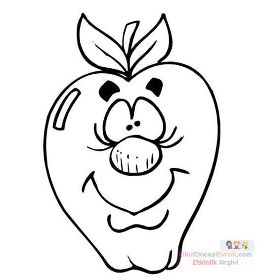 Sevimli Meyveler 29 Preschool Activity