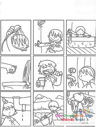 Temizlik Kuralları 1 Preschool Activity