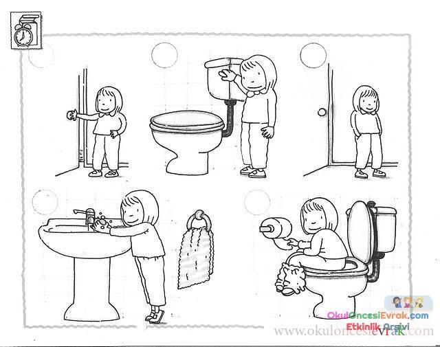 Temizlik Kuralları 2 Preschool Activity