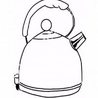 çocuklar Için çaydanlık Eşyalar Boyama Sayfası 19 Preschool Activity