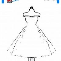 çocuklar Için Elbise Kıyafet Giysi Boyama Sayfası 17 Preschool