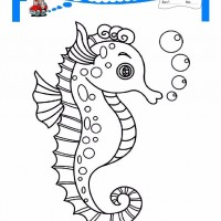 Okul Oncesi Deniz Canlilari Boyama Sayfasi 2 Okul Oncesi