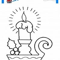 çocuklar Için Mum Eşyalar Boyama Sayfası 15 Preschool Activity
