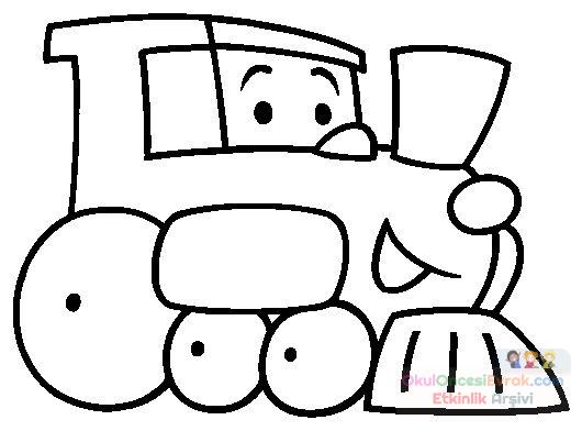 (En iyi) Okul öncesi Tren Boyama