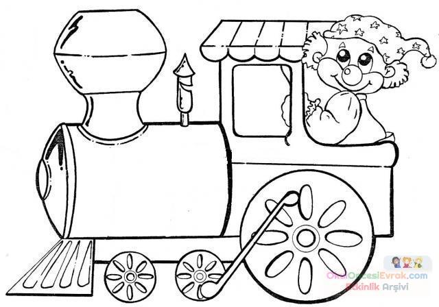 Tren Preschool Activity