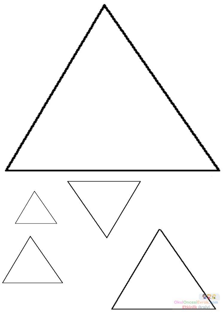 üçgen Preschool Activity