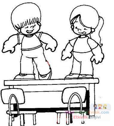 Uyulması Gereken Kurallar 35 Preschool Activity