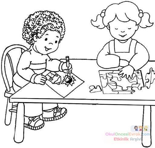 Uyulması Gereken Kurallar 63 Preschool Activity