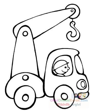 Vinç Boyama Preschool Activity
