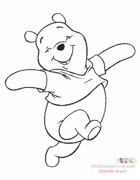Winnie The Pooh Boyama 26 Preschool Activity