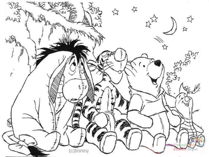 Winnie The Pooh Boyama 60 Preschool Activity