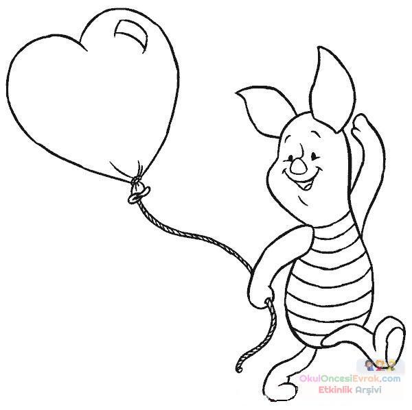 Winnie The Pooh Boyama 67 Preschool Activity
