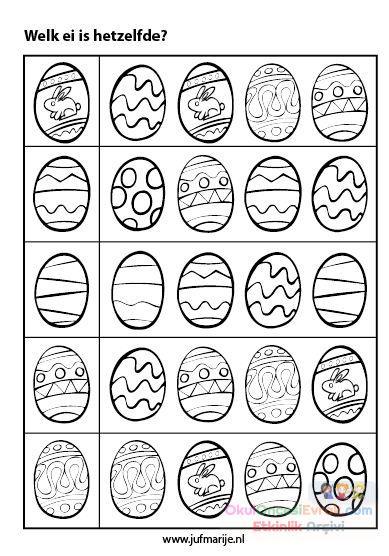 Yumurta Boyama 2 Preschool Activity