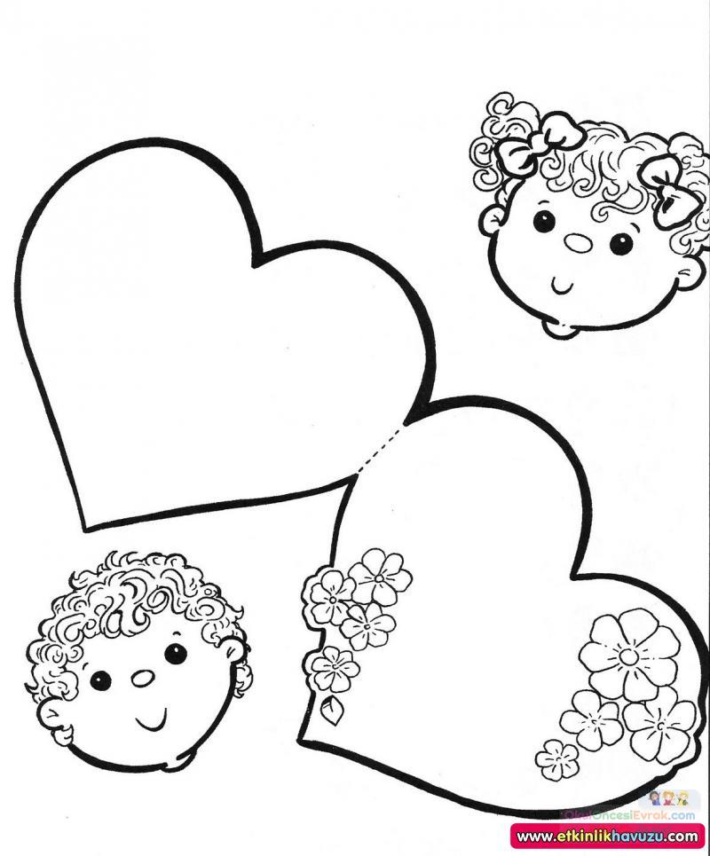 Boyama Sayfası Preschool Activity