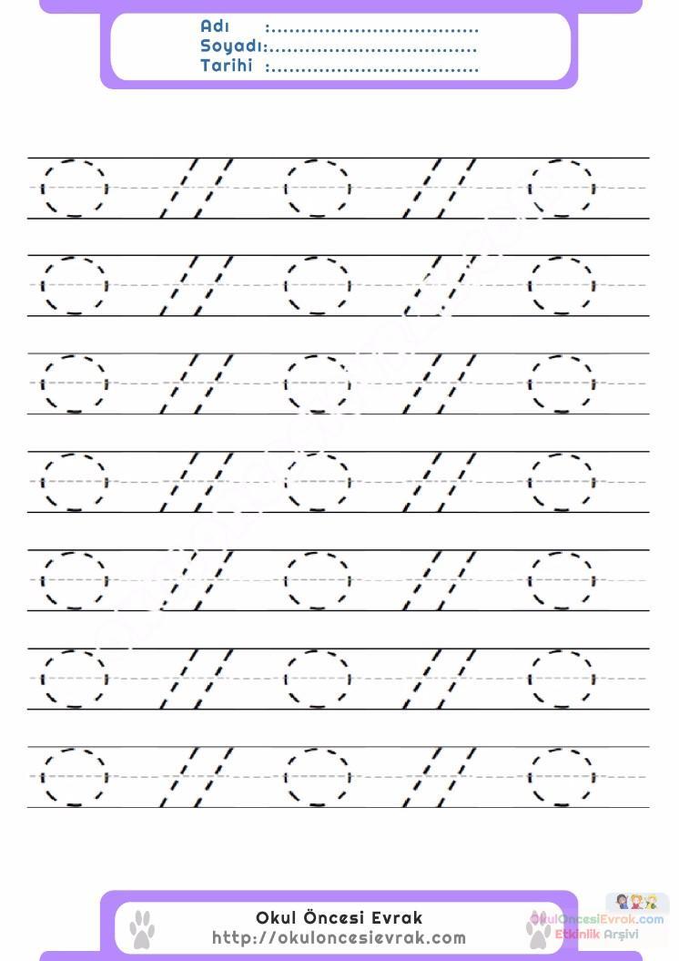Anaokulu Için Serbest Düzenli çizgi çalışma Sayfaları 24 Preschool