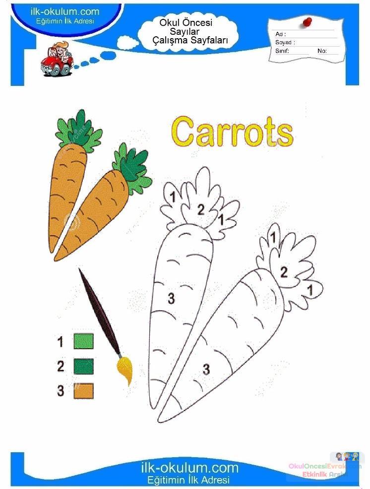çocuklar Için Sayıya Göre Resmi Boya Boyama Sayfaları 75 Preschool